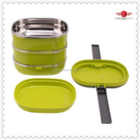 2015 the newest 2.1L stainless steel lunch box tiffin carrier for kid