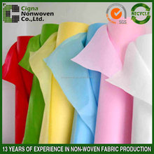 colorful nonwoven fabric for table cloth
