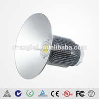200w high power ip65 led low bay,plastic reflector high bay shade