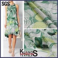 digital printing silk chiffon fabric prices, casual dress fashion chiffon fabric