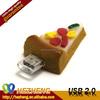 Novelty food shape USB Flash Drive pizza shape usn pen drive 8gb