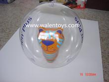 inflatable animal inside beach ball,infaltable beach ball