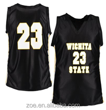 New Model Sublimated Cheap Youth Basketball jersey