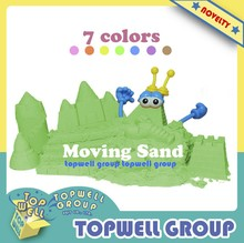 2015 Hot Selling DIY Coloured Sand Toy for Kids (500g/pc)