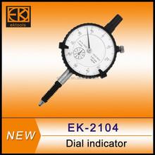 Metric / inch à prova de água dial medidor