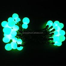 100V-240V 50bulb super bright holiday decoration waterproof outdoor light string
