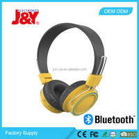 Stereo Bluetooth Headset Foldable Headphones Wireless Wired V2.1