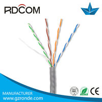 Cat6 50 pair cable, cat6 network cable, rubber cable cat5e