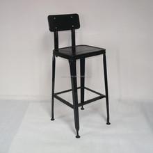 Metal Vintage Industrial Chair Cafe Chair Bar Chair