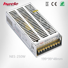 NES-250W efficient LED driver with CE ROHS CCC KC TUV certification