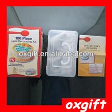 alibaba oxgift en españa 100 pedazo de pastel decoración kit