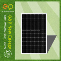 low price solar panels 260 watt with mono crystalline silicon cell 30V