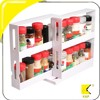 Swivel Store Spice Bottles Kitchen Shelf