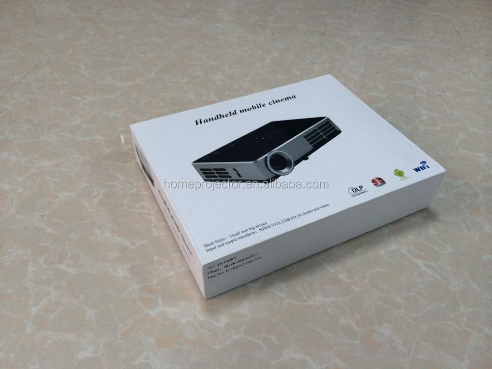 2016 Casa Thearter Portátil Mini Projetor inteligente