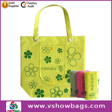 folding fruit shopping bag nylon shopping bag for women new design