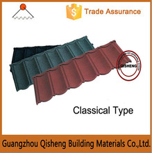 Blue stone coated roof shingles roofing materials/Price competitive types of stone coated metal roof tiles