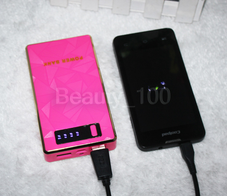 New Mobile Power Bank 4000mah power bank portable charger external Battery mobile phone charger Back up powers For ipad 10sets