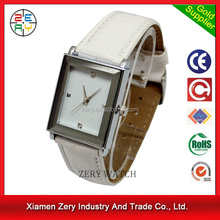 R0169 high quality PU leather diamond luxury watch, japanese movement pc21s diamond luxury watch