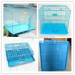 hot seller for Uk market metal pan folding iron metal pet dog crate&dog cage