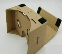 2015 China cheap popular 3d vr glasses google cardboard