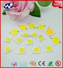 Leadfly UL&CE&ISO9001 3 years warranty 100% Gold wire 12w high power cob led chip ac220V