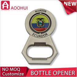 New high-end copper MOQ 10 fridge magnet beer bottle opener