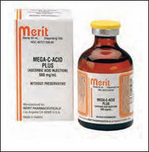 VITAMIN C INJECTION 500MG/ML, 50ML VIAL FOR SALE IN PAKISTAN