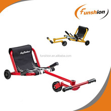 Red EzyRoller Classic Billy Cart - Ride On for 4-14 years+ with foot pedals