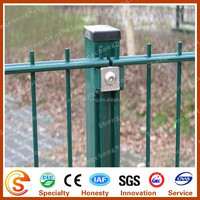 Hot dipped galvanized steel pipe Square galvanized fence posts