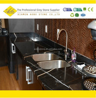 Black marquina marble prefab laminate kitchen countertops,commercial bar tops