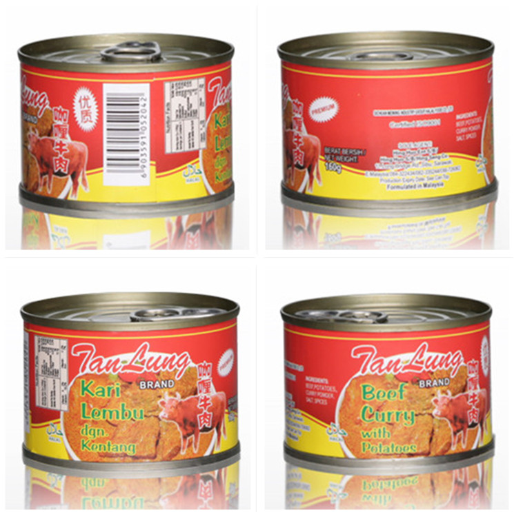 285g Canned curry beef