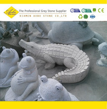 Easy depot granite frog statue stone sculpture