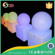 Hot sale RGBW led egg shape lamp swimming pool