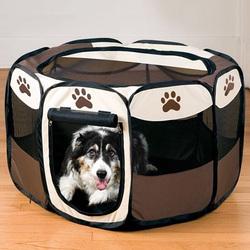 """36"""" Oxford Pet Dog Playpen Exercise Pen Portable Pet Playpen"""