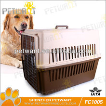 Indoor Plastic Pet Kennel Cage