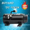 BLDC Solar Power R134A 12V 24V 48V 72V Speed Variable compressor for EV RV truck car sleeper cab tractor forklift aircondition