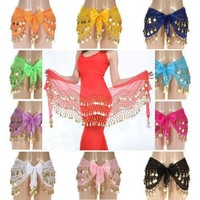 Charming Colorful Belly Dance Silk Veil for Dancer