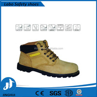 steel toe manufacture industrial safety shoe price for CE standard UK, comfortable steel toe safety footwear with PU injection