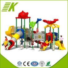 park used playground equipment metal slides for kids sale