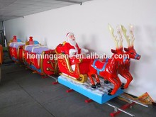 Christmas amusement children and adults track train for sale