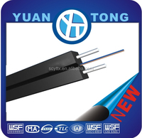 FRP 2 core fiber to the home optical drop cable