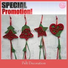 2014 Felt wholesale christmas decorations