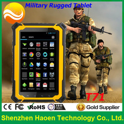 Wholesale 3G Android Rugged Tablet With RFID Reader T71 7 '' IP67 Rugged Sunlight Visible Tablet PC With Built-in GPS Wifi NFC