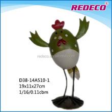 Decorative metal iron garden chicken