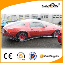 For USA Market HOT SALE Rain Protection Clear Plastic Car Covers