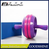 Environmental Upper Body Workout Gym Equipment Heavy Duty Adjustable Ab Roller Wheel For Abdominal Training