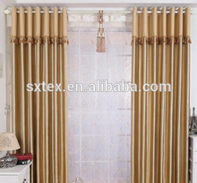 2015 Top quality Useful Hotel waterproof bathroom window curtain