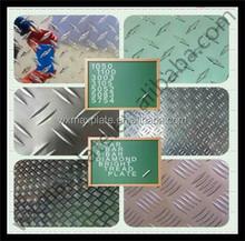 3 bars /5 bars Aluminum checker / tread plate