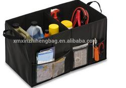 2015 Soft Storage Chest, Black Folding Car Trunk Organizer