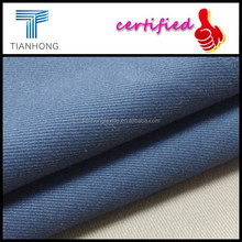 woven technic blue color 95 cotton 5 spandex twill stretch cloth fabric lycra for pants or skinny jeans